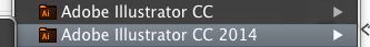 「CC」と「CC 2014」に